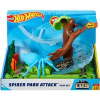 Spider Park Attack speelset Hotwheels