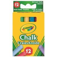 Bordkrijt kleur Crayola: 12 stuks