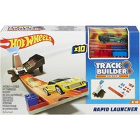 Track Builder Rapid Launcher Hotwheels