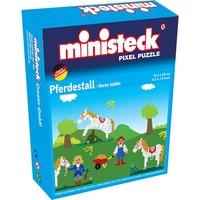 Paardenstal Ministeck 4-in-1 500-delig