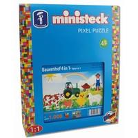 Boerderij Ministeck XL 4-in-1: 1000-delig