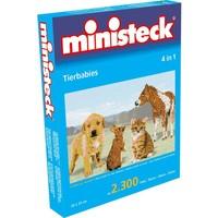 Dierenbabies Ministeck 4-in-1: 2300-delig