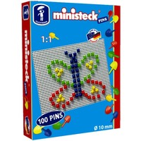 Pins Ministeck 10 mm 100-delig