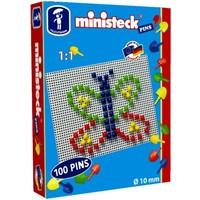 Pins Ministeck 10 mm: 100-delig