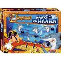 Naar de haaien Piet Piraat