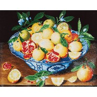 Still Life with Lemons Diamond Dotz: 52x42 cm