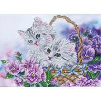 Kitty Basket Diamond Dotz: 52x38 cm