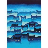 Smokey Mountain Cats Diamond Dotz: 47x66 cm