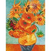 Sunflowers by Van Gogh Diamond Dotz: 71x56 cm