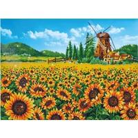 Sunflower Windmill Diamond Dotz: 76x57 cm