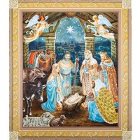 Nativity Scene Diamond Dotz: 85x100 cm