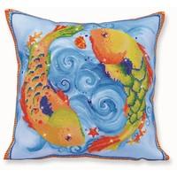 Dancing Fish Diamond Dotz: 44x44 cm
