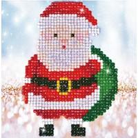 Santa Claus Sack Picture Diamond Dotz: 13x13 cm