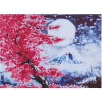 Cherry Blossom Mountain Diamond Dotz: 52x38 cm