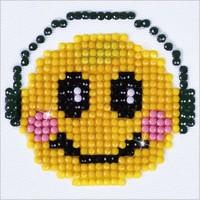 Smiling Groove Diamond Dotz: 7x7 cm