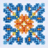 Autumn Mandala 1 Diamond Dotz: 7x7 cm
