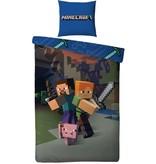 Minecraft Dekbedovertrek Minecraft 140x200/60x70 cm