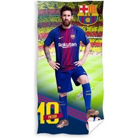 Badlaken barcelona Messi 70x140 cm