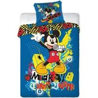 Dekbedovertrek Mickey Mouse rock 140x200/70x80 cm