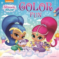 Kleurboek Shimmer & Shine: color fun