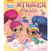 Stickerboek Shimmer & Shine: sticker parade