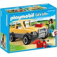 Dierenarts met 4x4 Playmobil