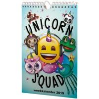 Weekkalender Emoji 2019