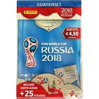 Panini sticker starter pack FIFA World Cup 2018