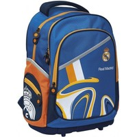 Rugzak real madrid blauw luxe: 43x30x18 cm