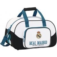 Sporttas real madrid wit: 40x25x23 cm