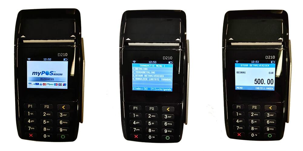 betaallink versturen op mobiel pinapparaat