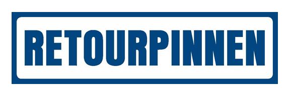 Retourpinnen logo