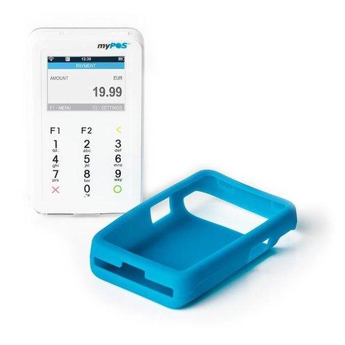 myPOS D200 Mini blauwe siliconenhoes