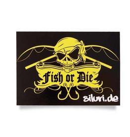 Fish or Die® autocollant