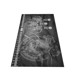Fish or Die® Abhakmatte 300x150 Skull