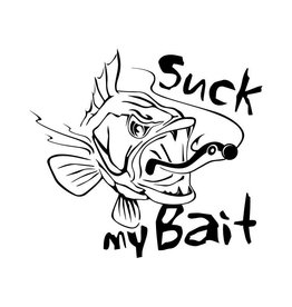 Suck my Bait sticker cut