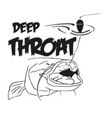Deep Throat® Waller autocollant coupe