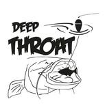 Deep Throat® Waller corte la etiqueta engomada