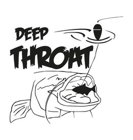 Deep Throat® Waller sticker cut