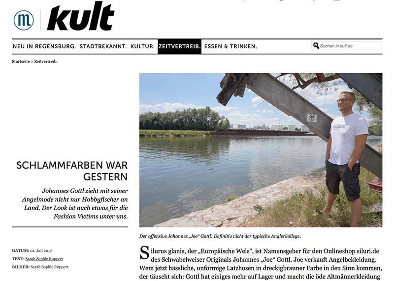 KULT - Zeitungsartikel über Joe Gottl