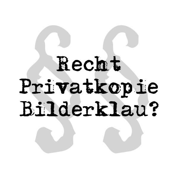 [Urheberrecht] Darf ich Bilder/Logos kopieren/verfälschen?