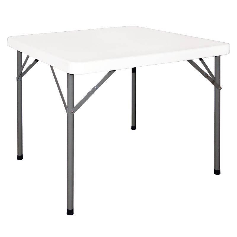 Inklapbare tafel vierkant 86x86cm y807 horecarama for Inklapbare tafel