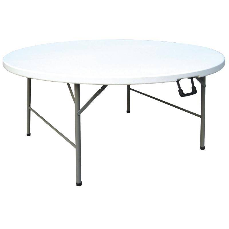 Inklapbare tafel rond 153cm cc506 horecarama for Inklapbare tafel