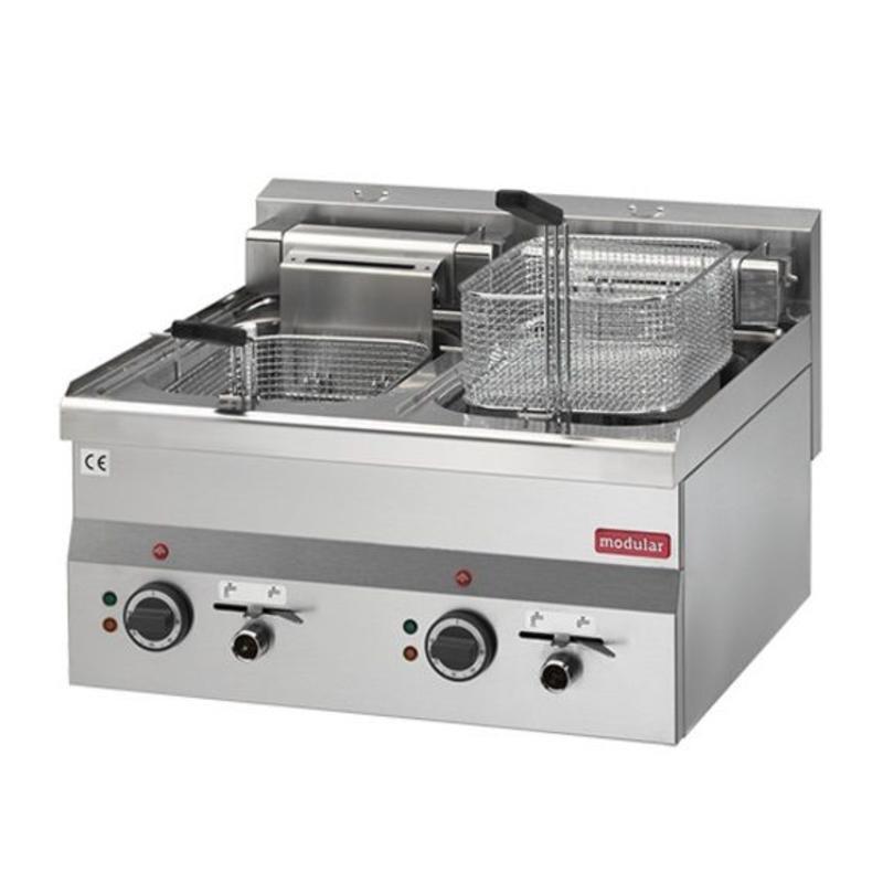 Modular 600 Friteuse Modular 600 - elektrisch 2x 10 liter