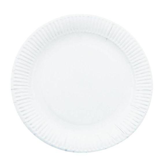 Wegwerp borden en bestek