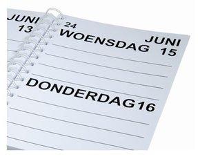 Grootletter Agenda's / Kalenders
