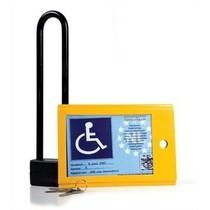 Kaarkluis- Invalideparkeerkaart vergrendeling