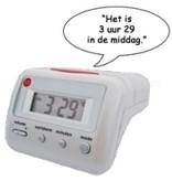 Low Vision design Low vision Nederlands sprekende (alarm)klok