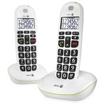 Doro 110 DECT Duo Wit