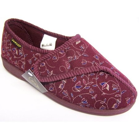 Dunlop Verbandpantoffels - Pantoffels Bluebell Burgundy (vrouw)